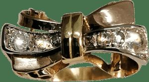 Art Deco-Ring