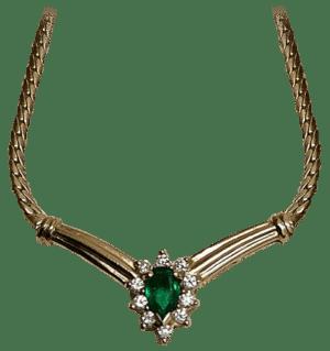 Smaragd-Collier