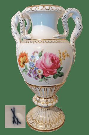 Schlangenhenkel-Vase