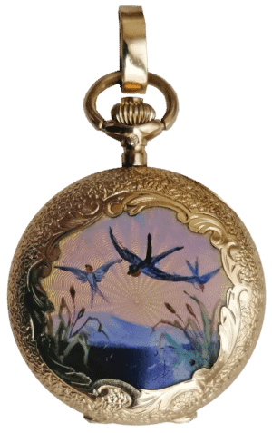Damen Umhänge-Uhr