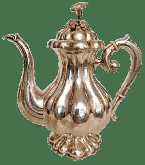 Kaffekanne im Barockstil