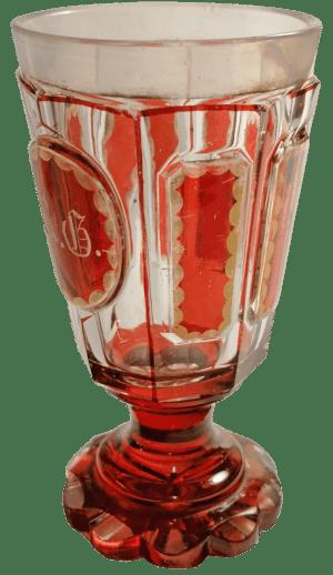 Biedermeier-Pokal
