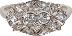 Art Deco – Brillant Ring