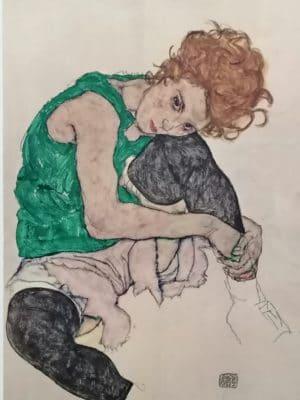 """Egon SCHIELE, 1890 – 1918, Wien, """" Wally """""""