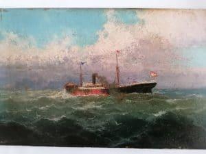 Hernandez MONTES, Impressionist, Spanien um 1900