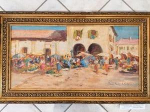 """Randolf WEHN, 1911 – 1987, """"Italienischer Markt"""""""