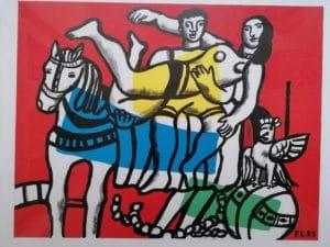 Fernand LEGER, 1881 Argentan – 1955 Paris, Expressionist